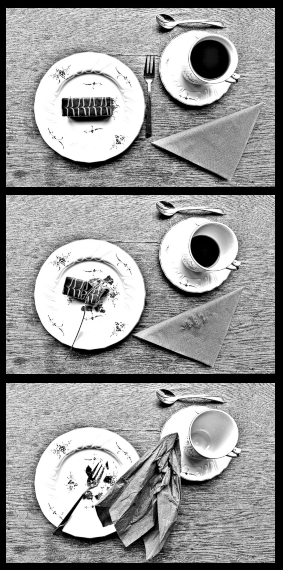 Neckepin / Kaffee