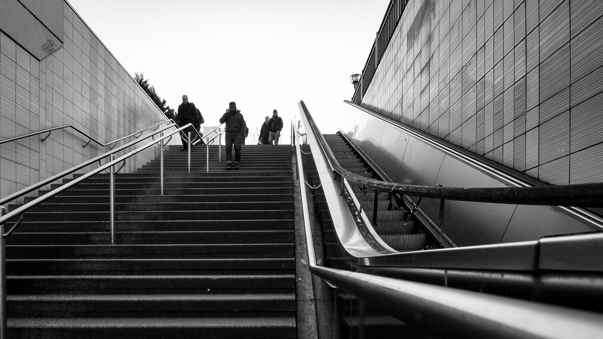 babblfisch / useless escalator
