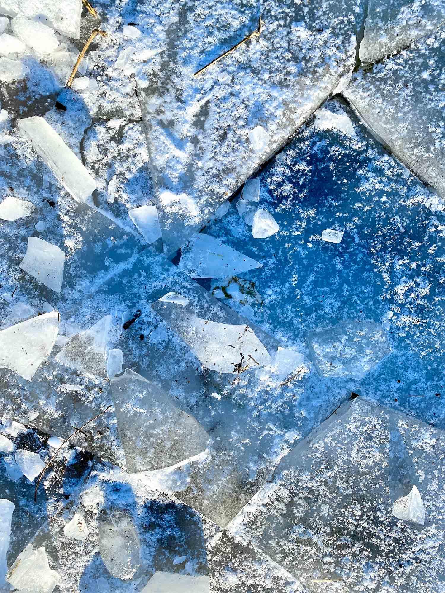 Das Eis ist gebrochen