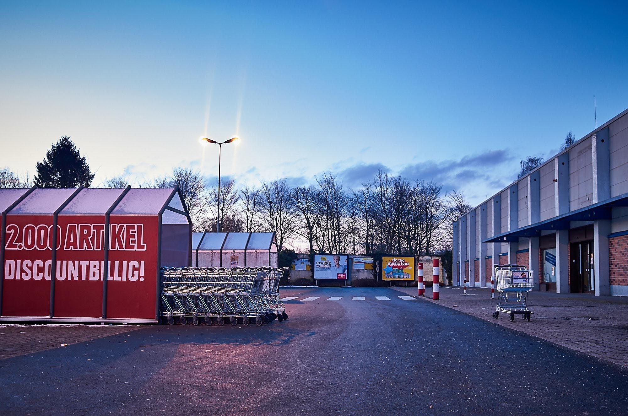 Photoauge / Einkaufswagen