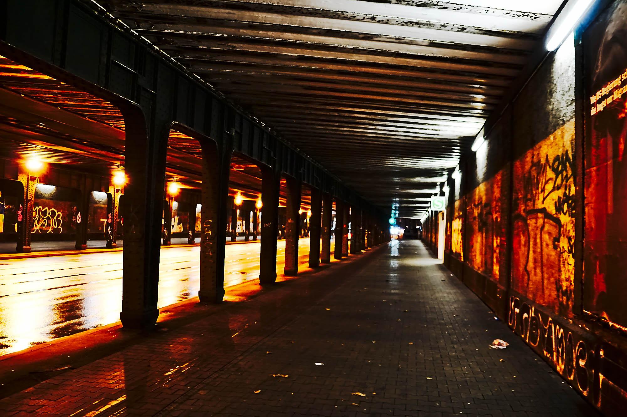 Licht im Tunnel