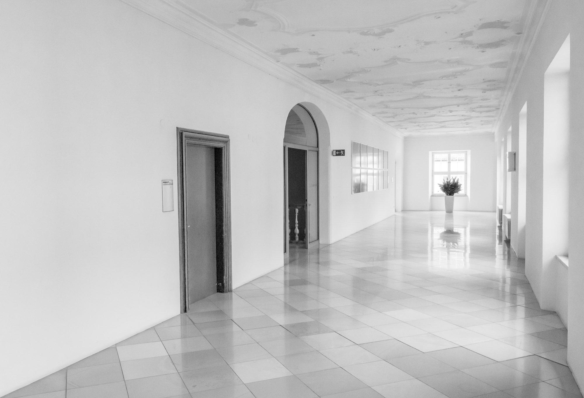 beim Probenwochenende im Kloster Ochsenhausen