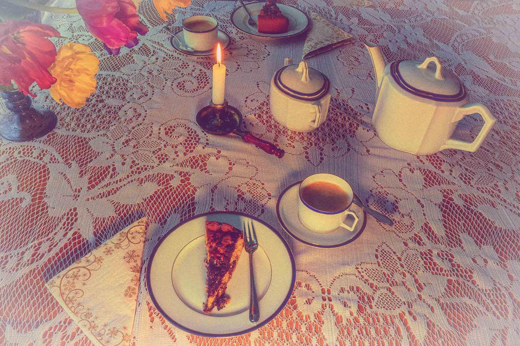 Oma´s Kaffeetafel