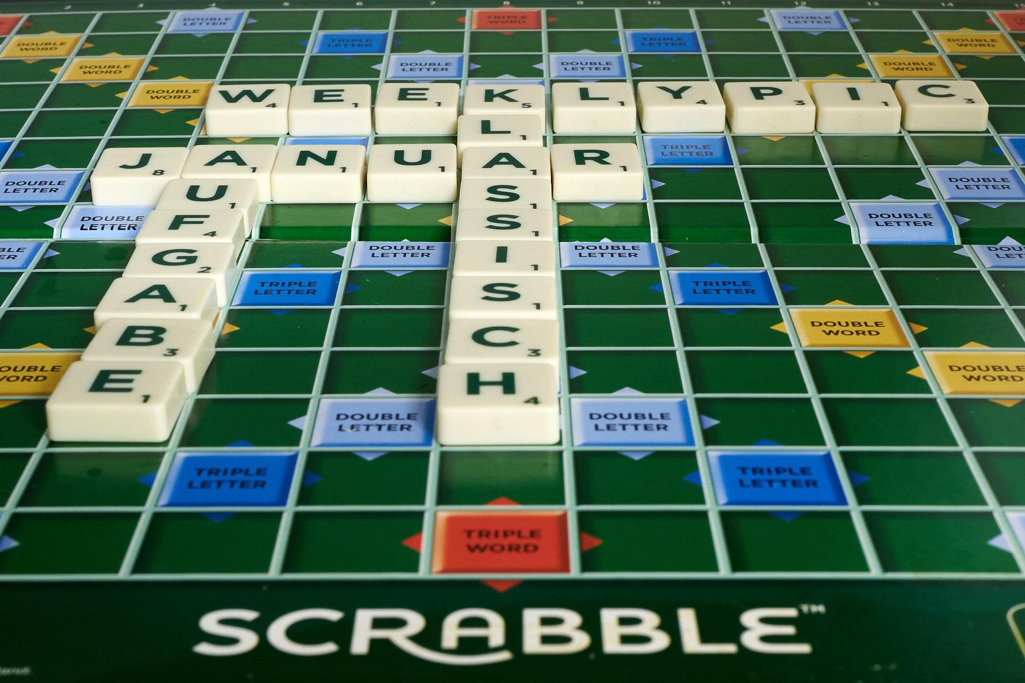 Klassisch: Scrabble