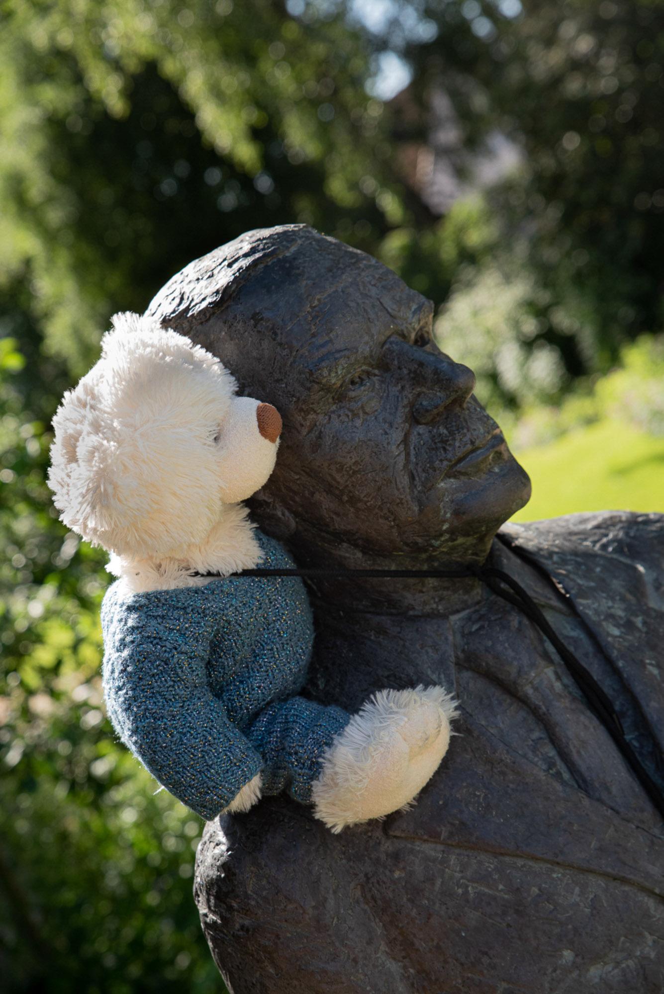Thomas Mann einen Bären aufbinden