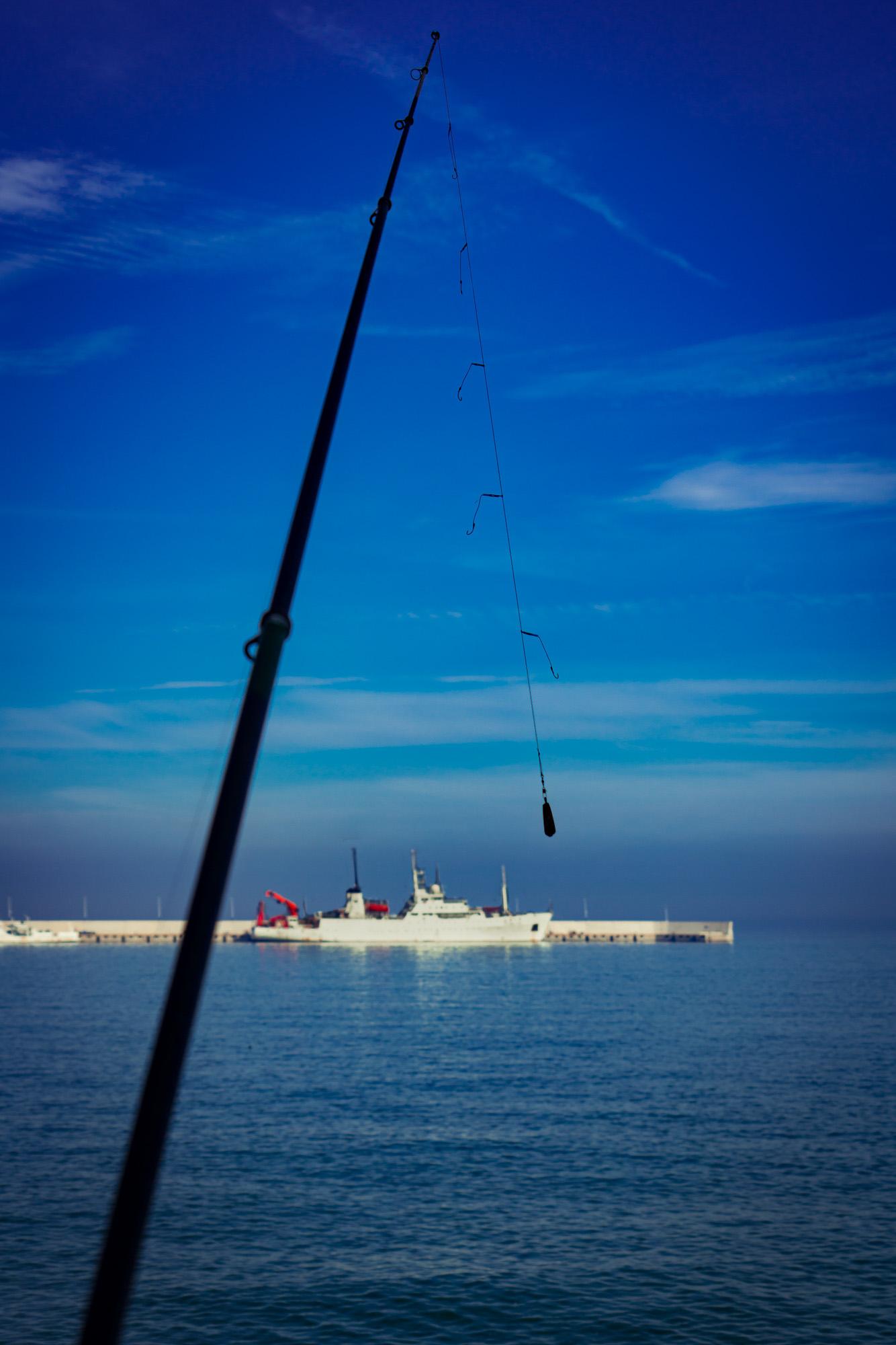 ollo / Forschungsschiff bald am Haken in Qingdao