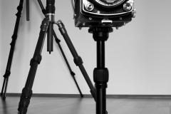 expresskasse / 3 Kameras auf Stativ
