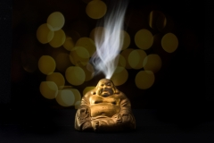 peter / smoking buddha