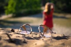 Tristate / Spuren im Sand