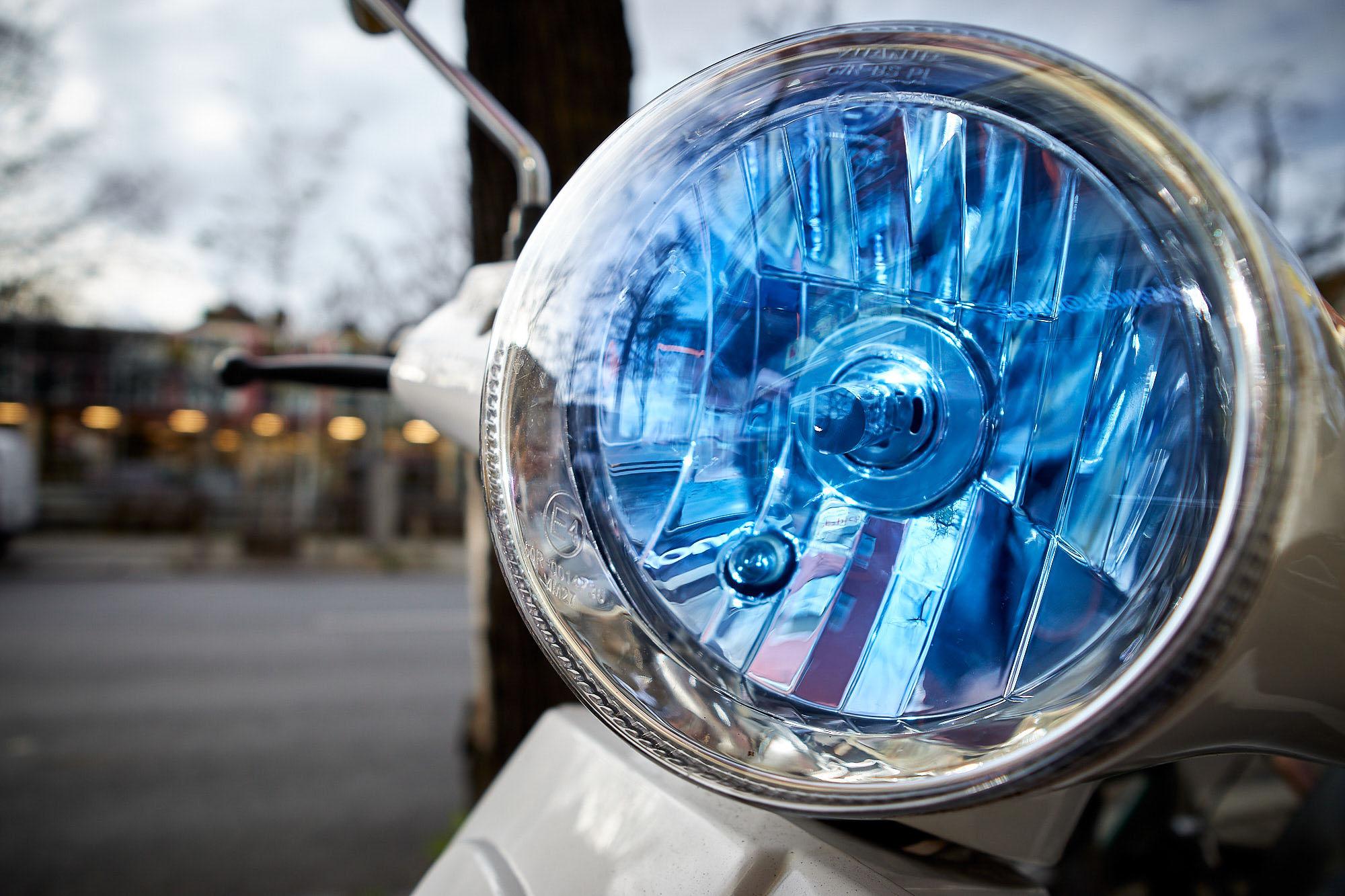 Photoauge / blaues Licht