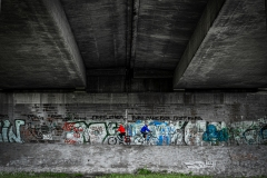 Ruhrradweg kreuzt A45 ...