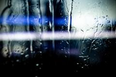 dotmatchbox / Regen abstrakt gestreift