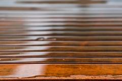 tschloss / Gestreift im Regen