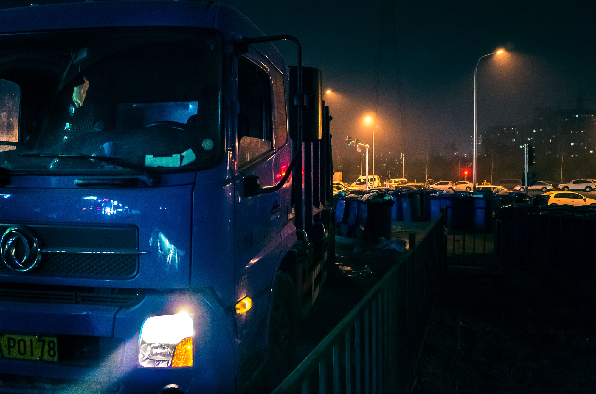 ollo / Müllabfuhr Peking