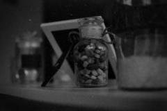 matteagle / Glasflasche