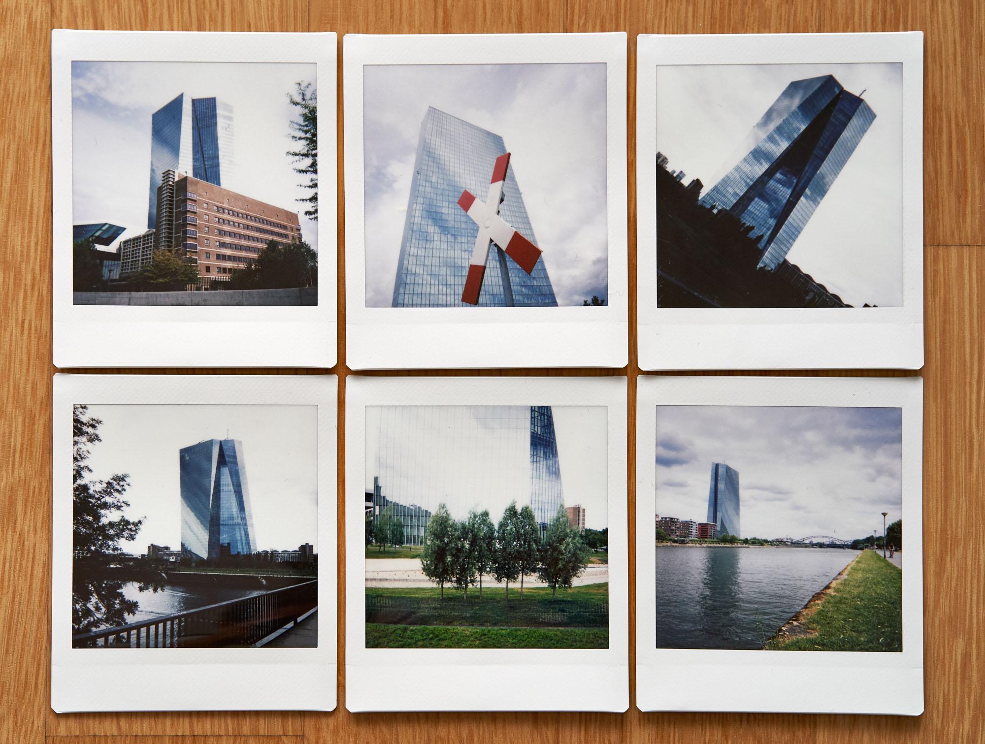 expresskasse / EZB Polaroids