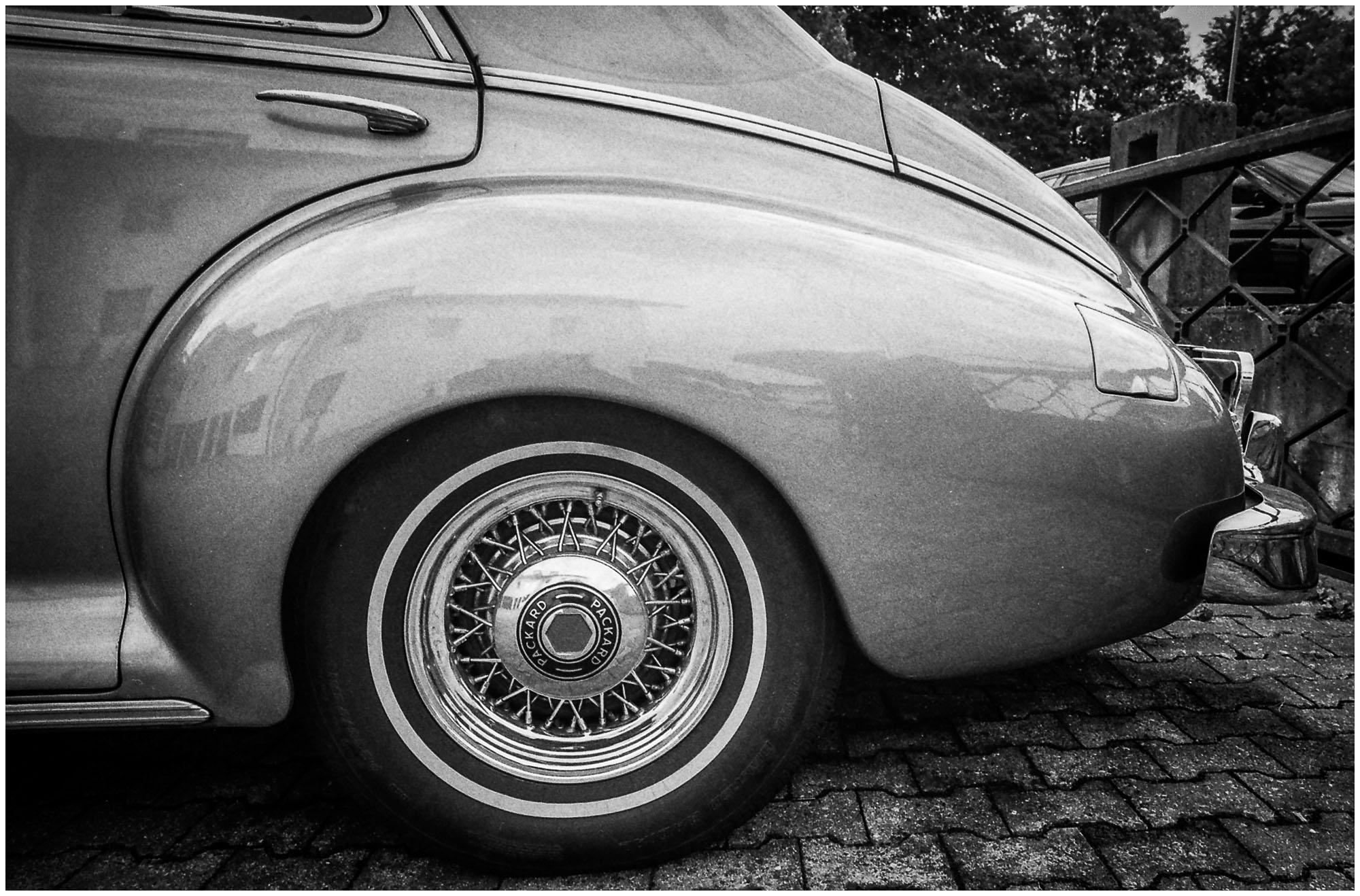 UnclePete / 1947er Packard Super Clipper - OM4T/24mm/FP4/ISO200