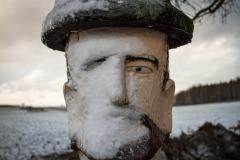 sonjahwolf / Portrait mit Schnee