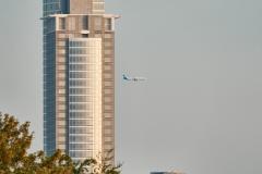 expresskasse / 3 Türme und Flugzeug