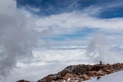 peter / Pikes Peak - über den Wolken