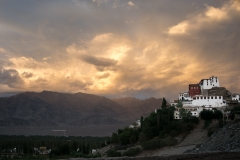 Lumivers / Thikse Kloster, Ladakh