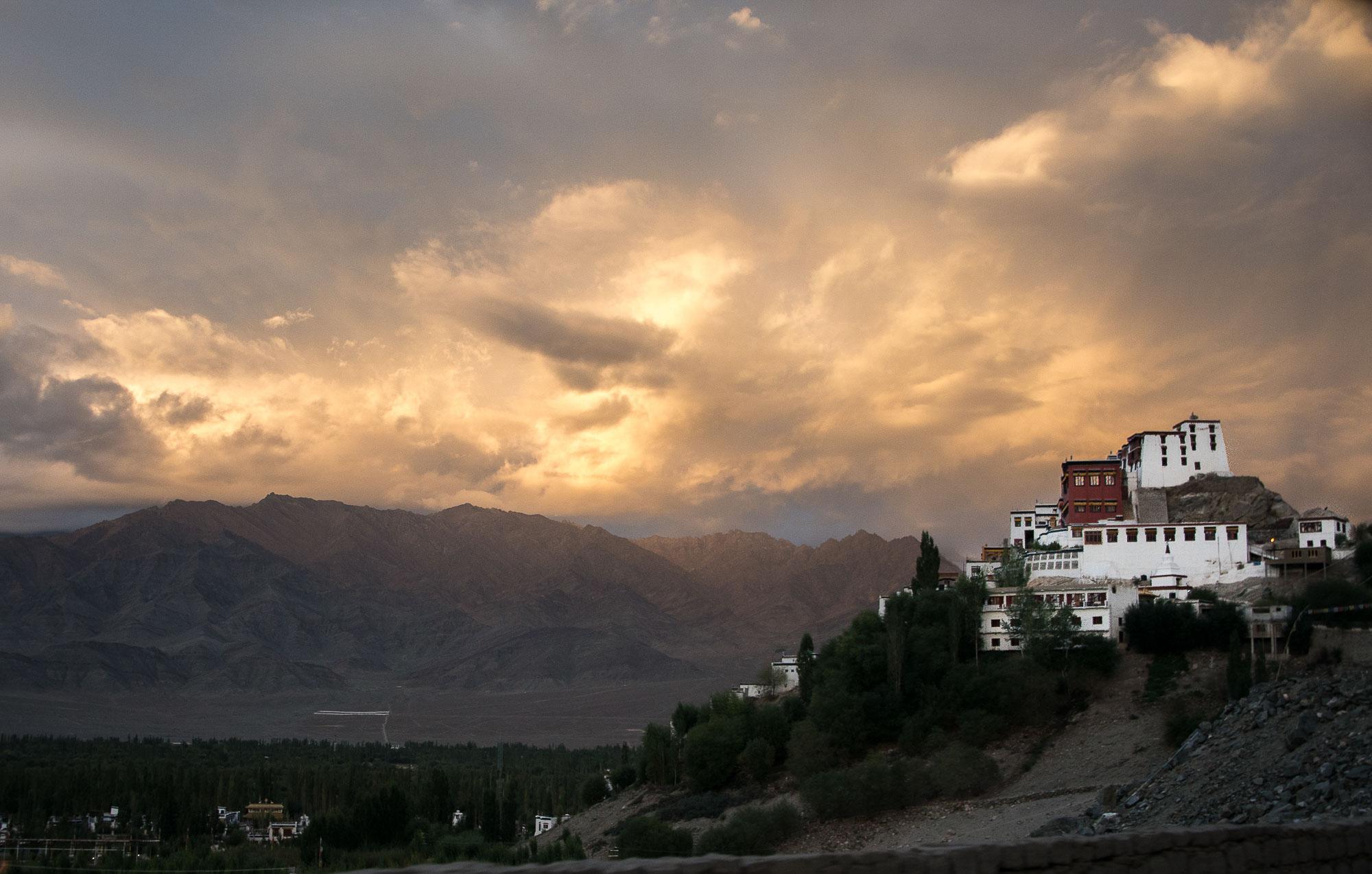 Lumivers / Thikse Kloster, Ladakh