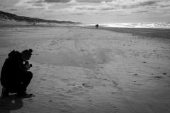 Tristate / Mittelformat im Sand