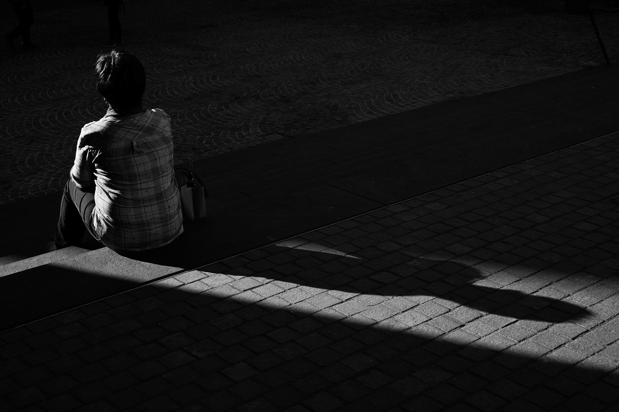 expresskasse / Rast in der Sonne