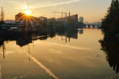 Markus / Sonnenaufgang in Berlin