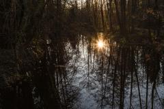dagmar/ doppelter Sonnenuntergang