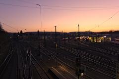 Bahngleise in Aachen